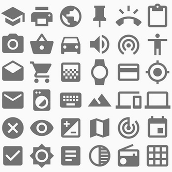 Material design icons / Google